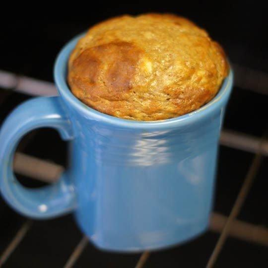 Healthy Banana Mug Cake