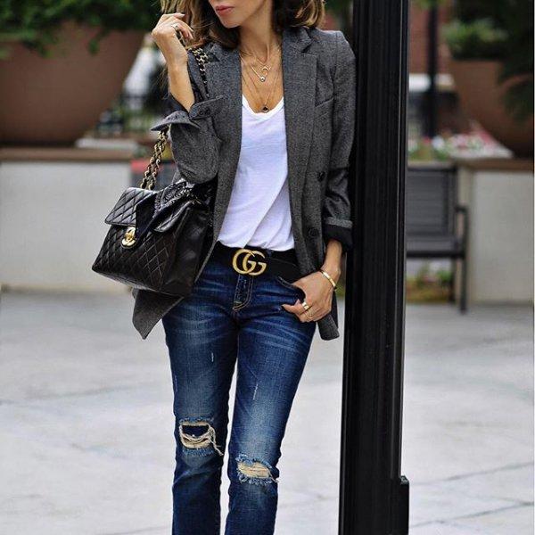 jeans, clothing, denim, jacket, leather,