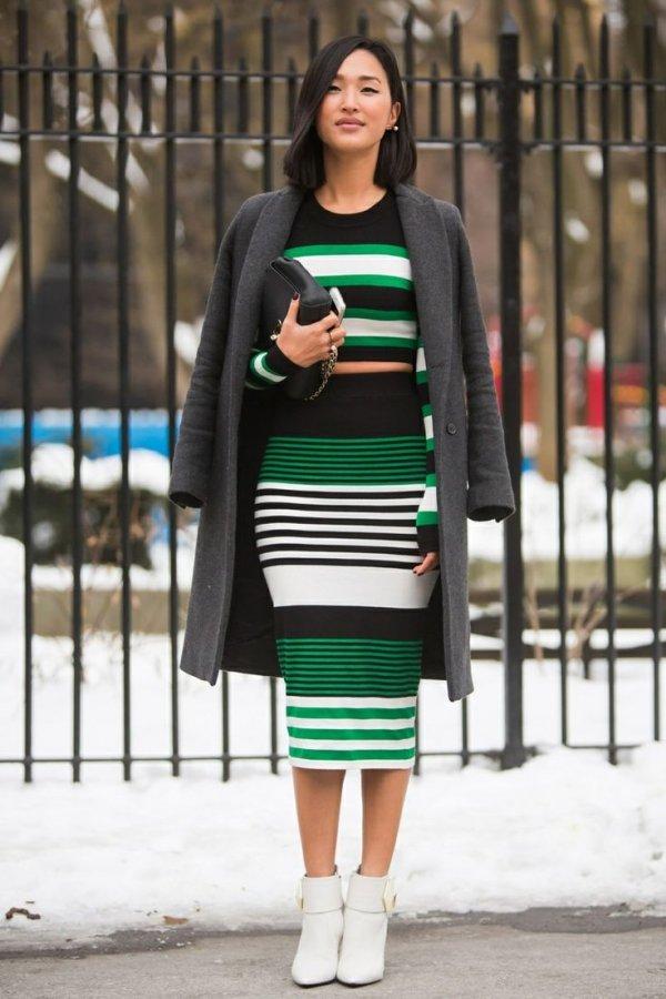 Avoid Horizontal Stripes and Huge Prints