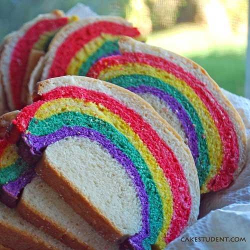 Over the Rainbow Bread