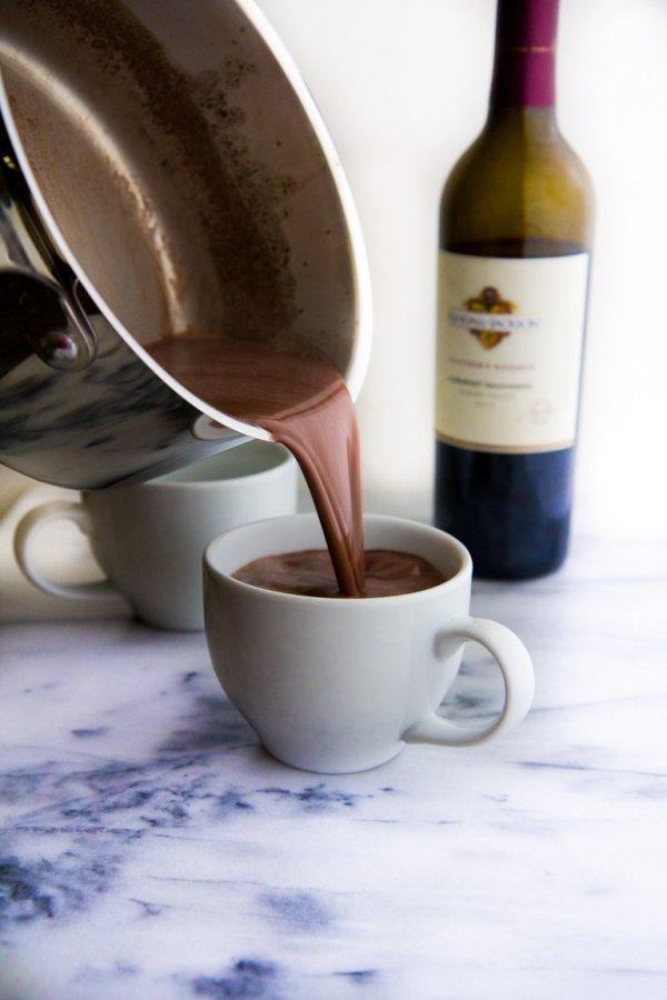Red Wine Hot Cocoa