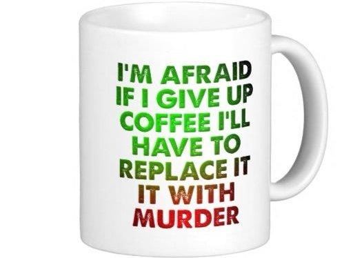 Coffee for Murder Mug