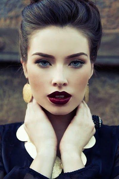 Swap Your Lip Gloss for Dark Lips