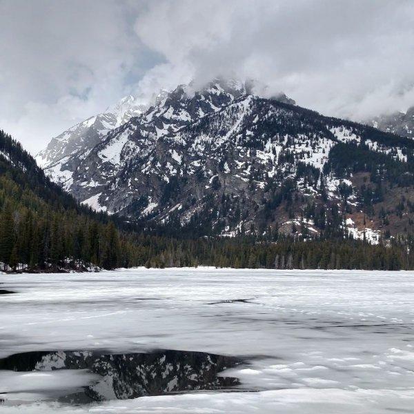 mountainous landforms, snow, mountain, winter, landform,