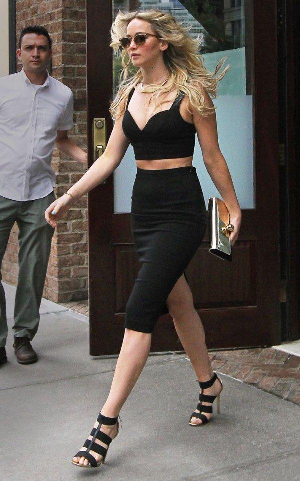 Jennifer Lawrence's Chic Look