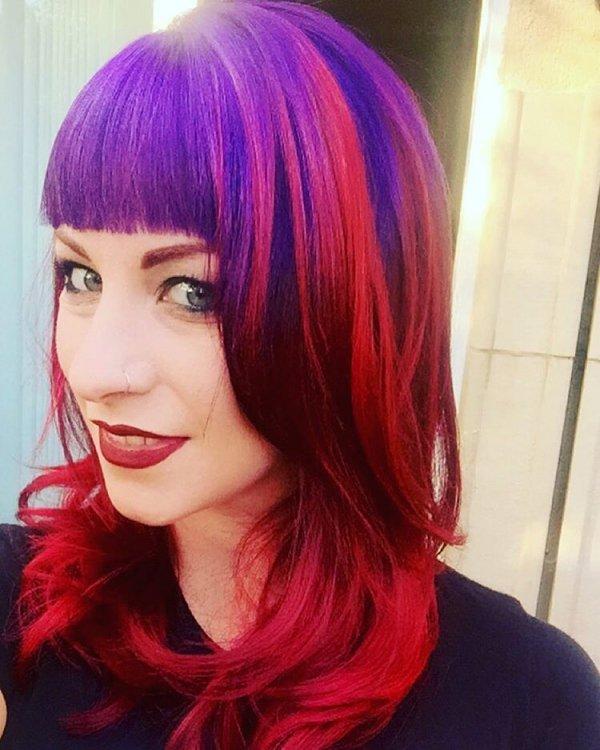 Chloe's Unicorn Hair