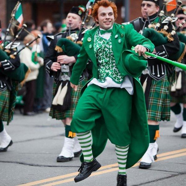 Event, Holiday, Saint patrick's day, Festival, Parade,