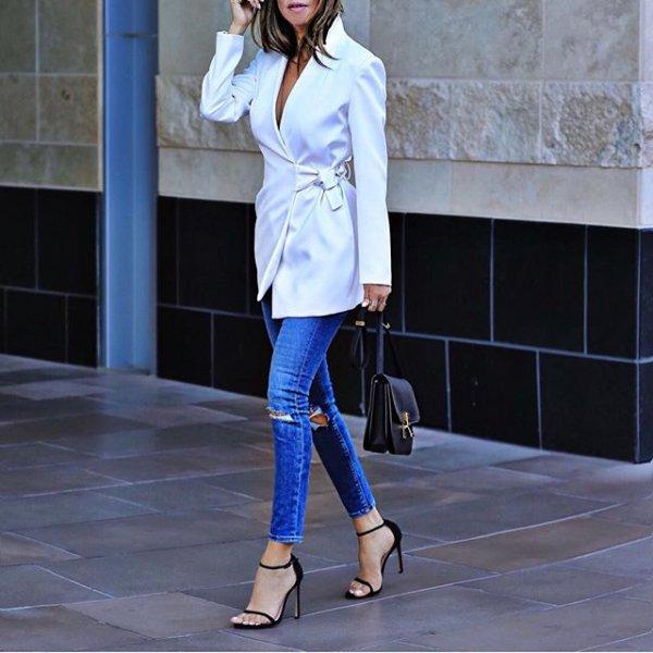 white, blue, clothing, footwear, fashion,