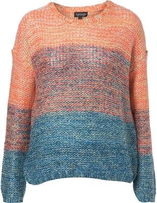 Tophsop Knitted Ombré Effect Jumper