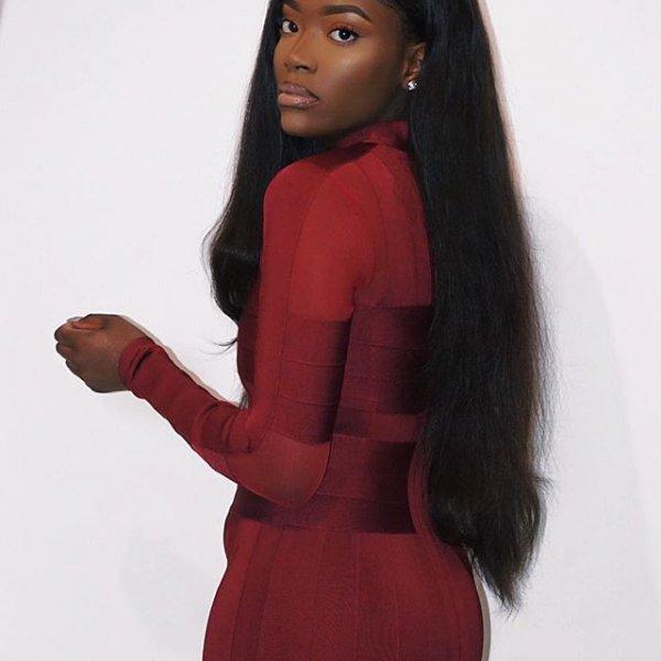 hair, red, clothing, brown hair, long hair,