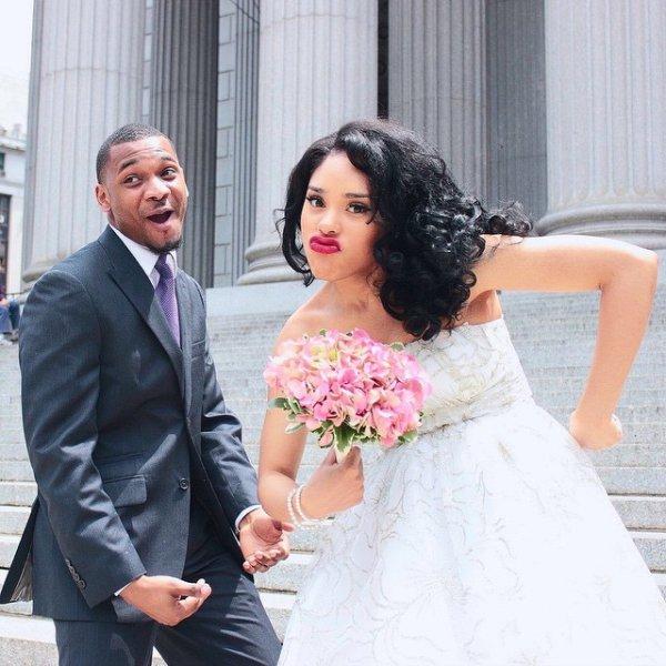 bride, woman, person, wedding dress, man,