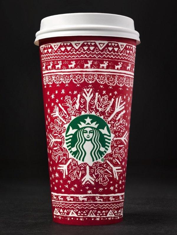 Starbucks, mug, cup, red, coffee cup,