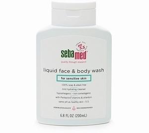 Sebamed Liquid Face & Body Wash for Sensitive Skin