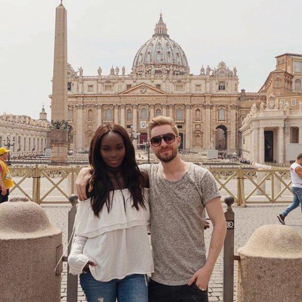 Saint Peter's Square, Key Whole View, Saint Peter's Basilica, Vatican Museums, photograph,