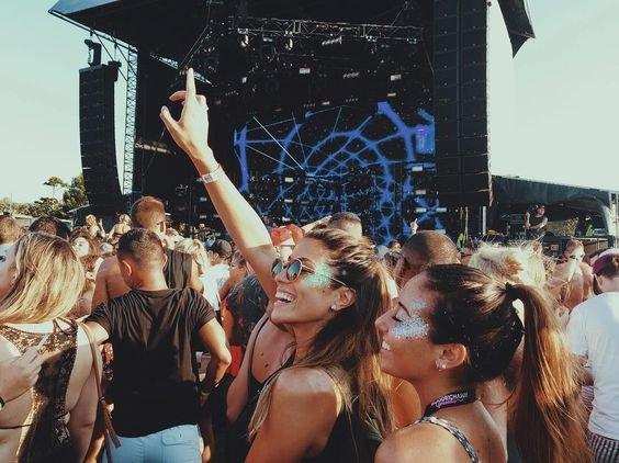 crowd, fun, festival, girl, event,