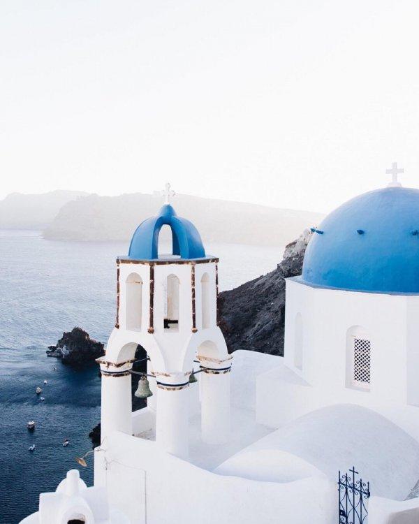 Blue, White, Dome, Sky, Azure,