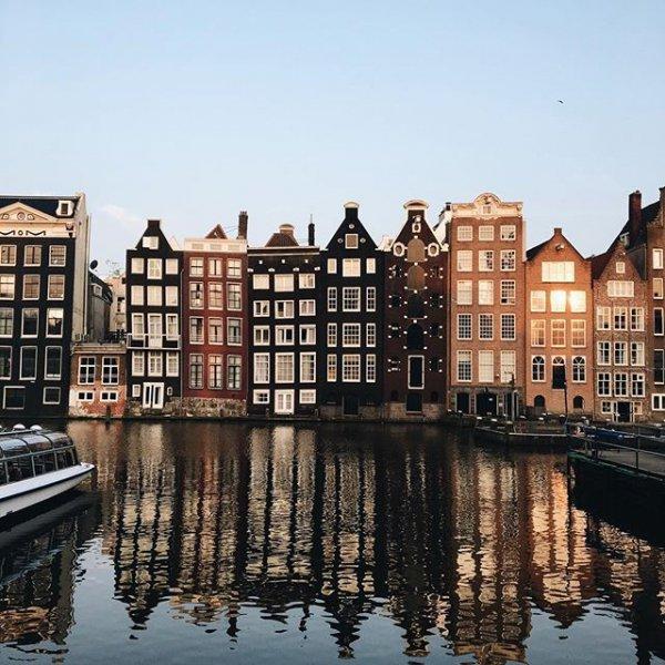 Amsterdam, Amsterdam, canal, reflection, waterway,