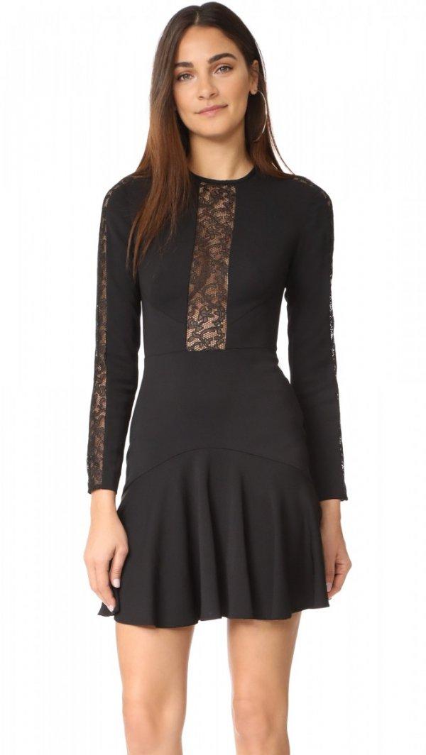 clothing, black, day dress, sleeve, dress,