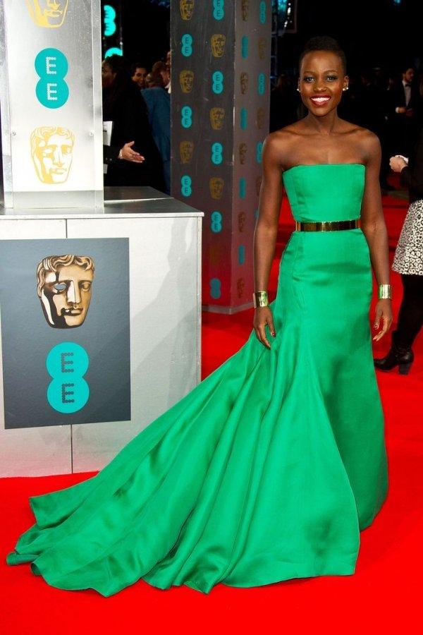Lupita Nyong'o in Green