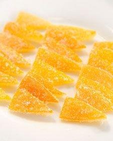 Candied Meyer Lemon Peel