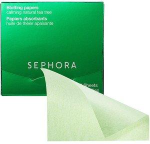Sephora Calming Natural Tea Tree Oil Blotting Papers