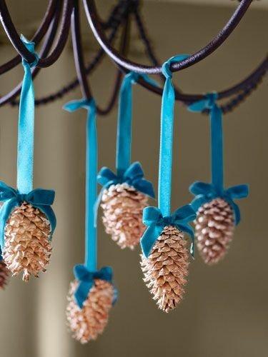 Hanging Pine Cones