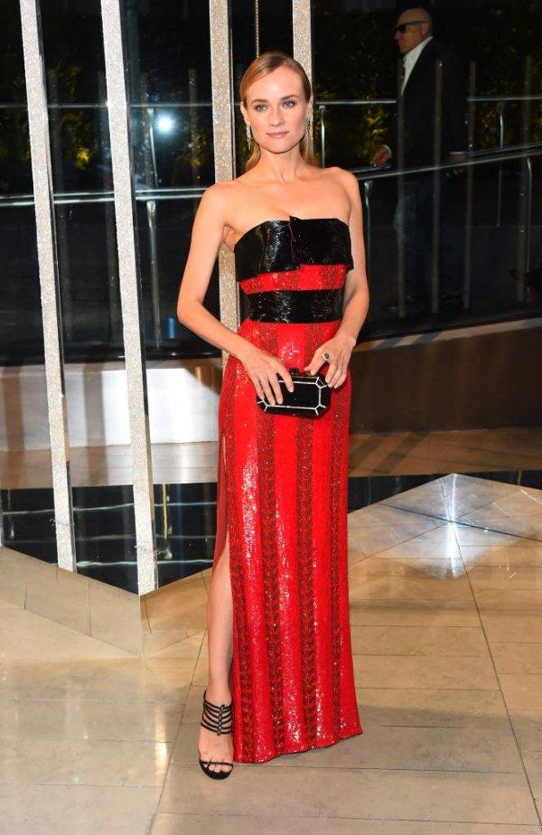 Diane Kruger at the CFDA Fashion Awards