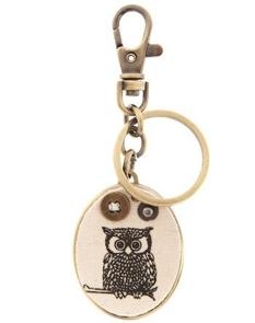 Modcloth Never Locked Owl-t Key Chain