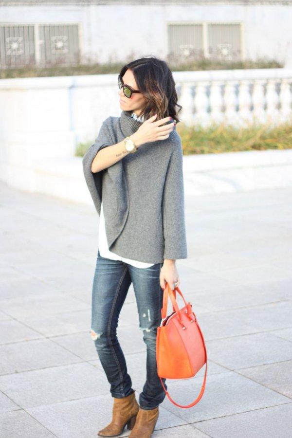 Cozy Sweater Cape
