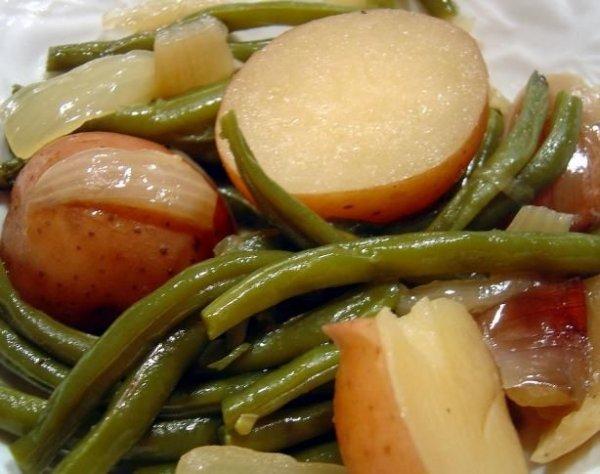 Ham, Green Beans, and Potatoes