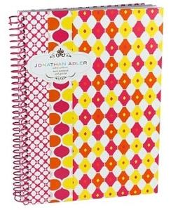 Jonathan Adler Diamond Print Mini Notebook