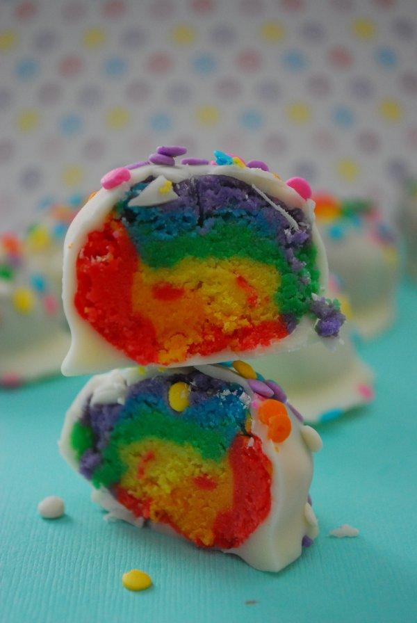 Rainbow Truffles
