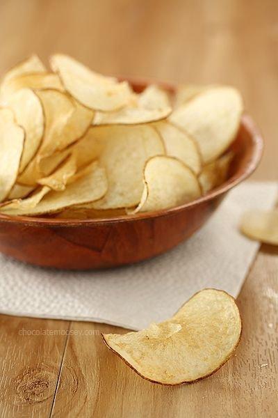 Snack on 1 Oz. of Baked Potato Chips Instead of Regular Chips