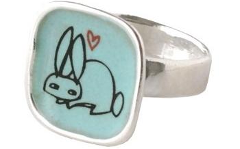 Bunny Love Ring