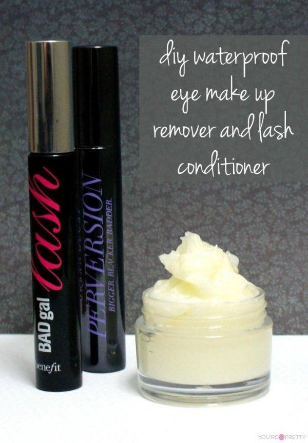 DIY Water Proof Eye Makeup Remover