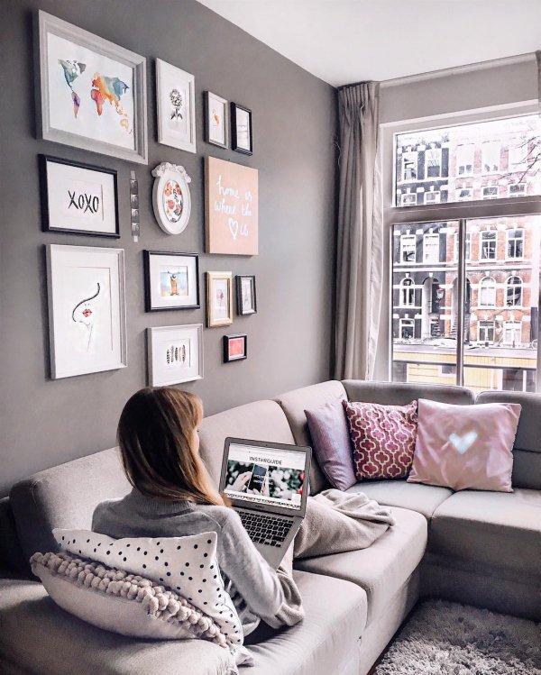 living room, white, room, furniture, home,