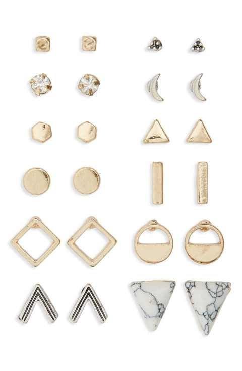 earrings, jewellery, fashion accessory, body jewelry, brass,