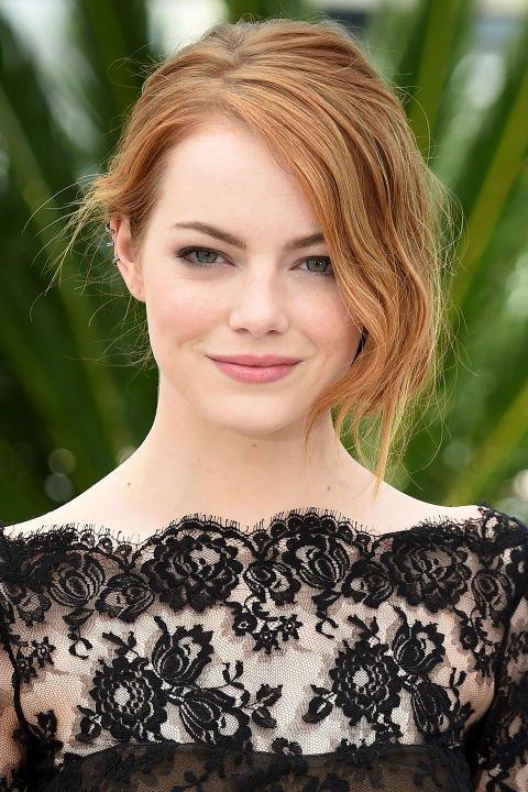 Emma Stone's Rose Lipstick