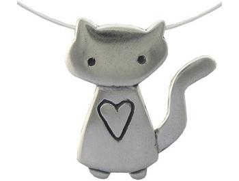 Mark Poulin Kitty Love Necklace