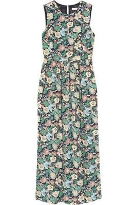 Steven Alan Cynthia Printed Silk-Georgette Dress