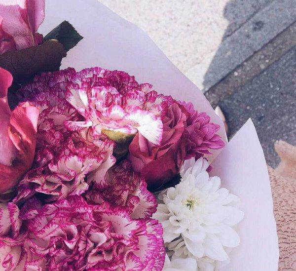 pink, flower, flower bouquet, flower arranging, purple,