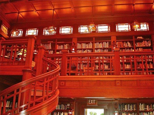 Skywalker Ranch Library, California, USA