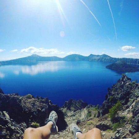 sky, mountain, lake, mountain range, extreme sport,