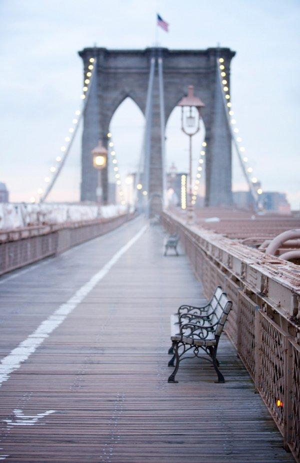 Brooklyn Bridge, bridge, walkway, flooring, boardwalk,