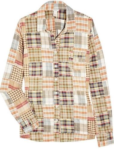 J.Crew Madras Checked Cotton Shirt