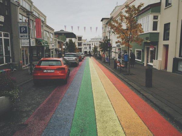 Reykjavic Rainbow