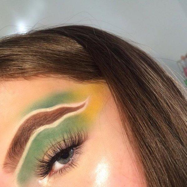 eyebrow, forehead, eyelash, eye, close up,