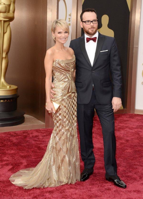 Kristin Chenoweth and Dana Brunetti