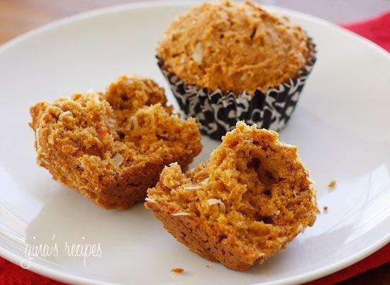 Papaya Coconut Muffins