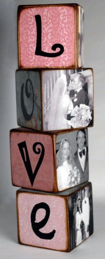 Photo LOVE Blocks